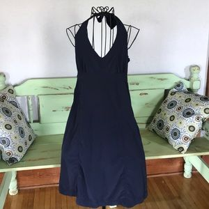 Athleta blue tieback sundress